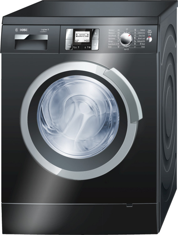 buy bosch logixx 9 varioperfect was287b0gb washing machine was287b0gb black marks electrical. Black Bedroom Furniture Sets. Home Design Ideas