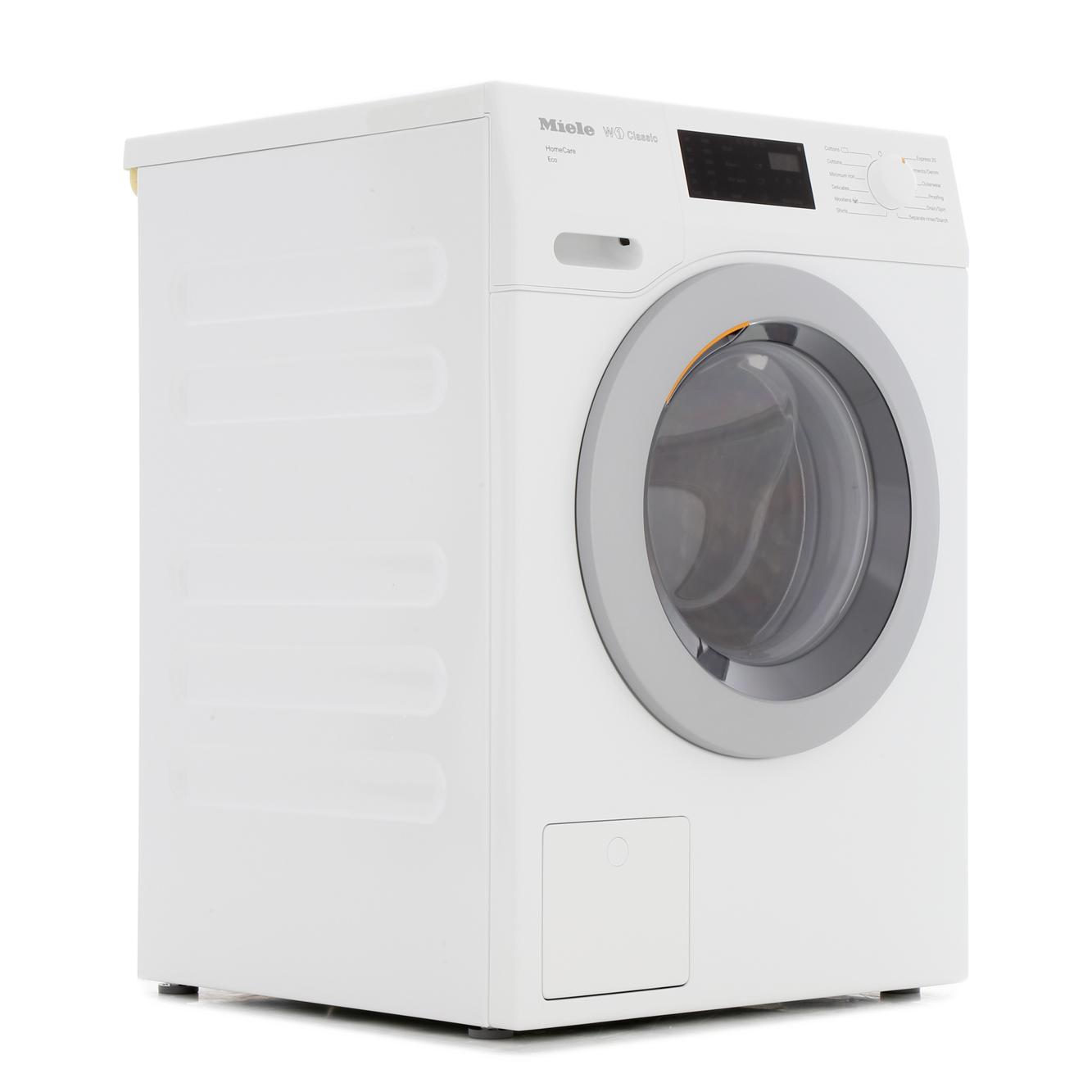 Miele W1 - Classic WDB036 Eco HomeCare White Washing Machine