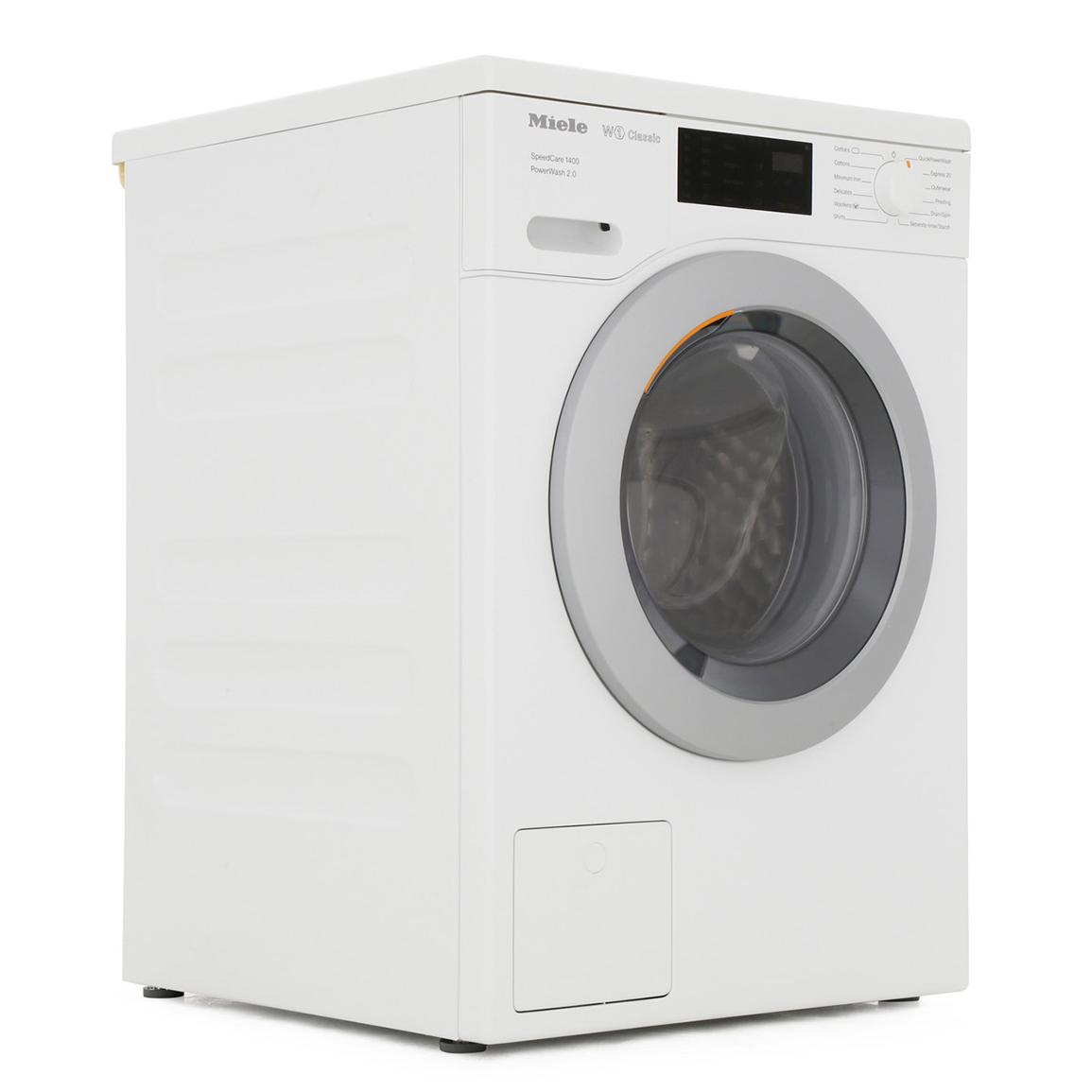 Miele W1 Speedcare WDD320 8Kg Washing Machine with 1400 rpm - White - A+++ Rated