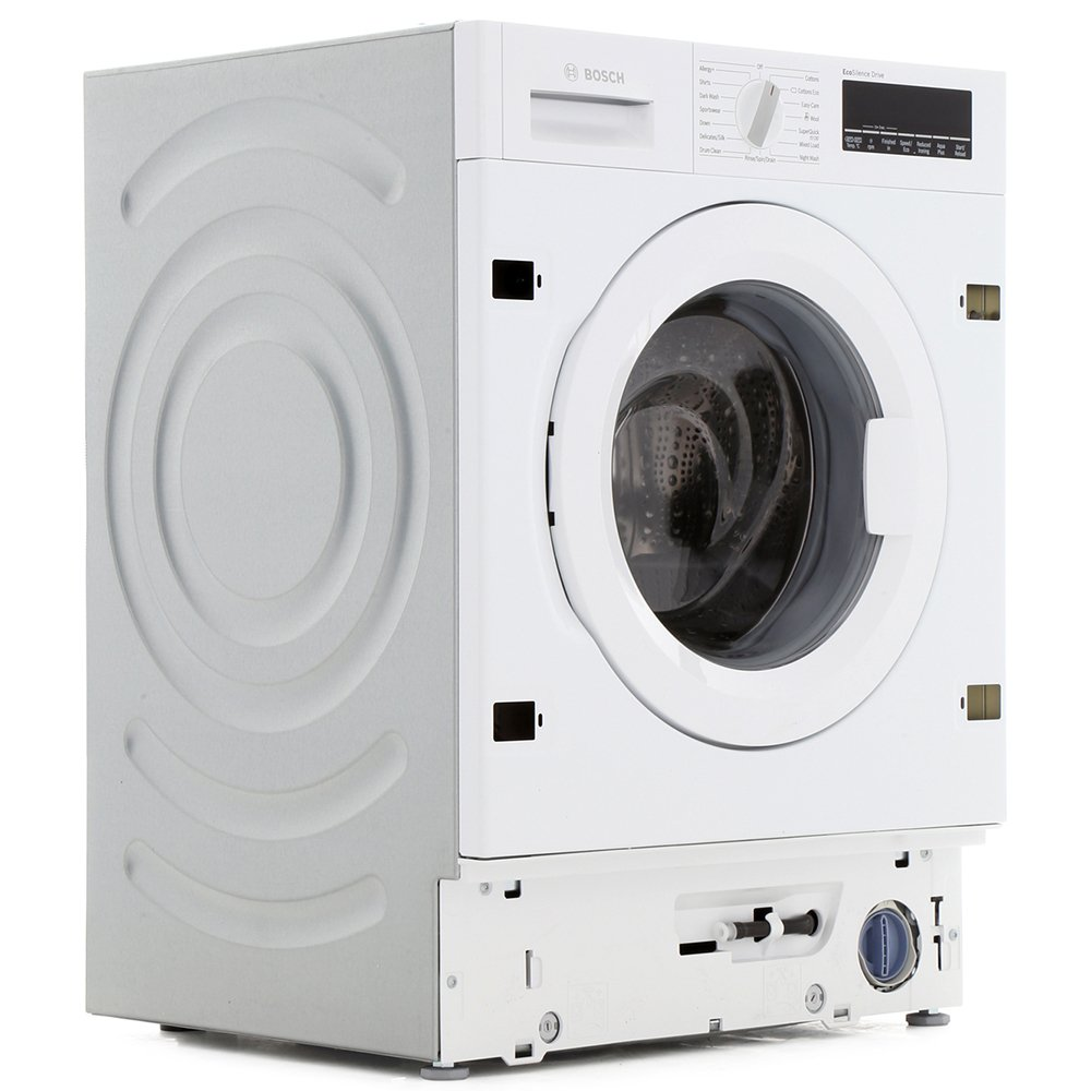 buy bosch serie 8 wiw28500gb integrated washing machine wiw28500gb white marks electrical. Black Bedroom Furniture Sets. Home Design Ideas