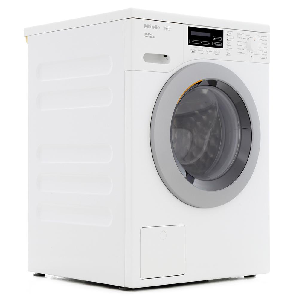 buy miele w1 chromeedition wkf301 white washing machine wkf301white lotus white marks. Black Bedroom Furniture Sets. Home Design Ideas