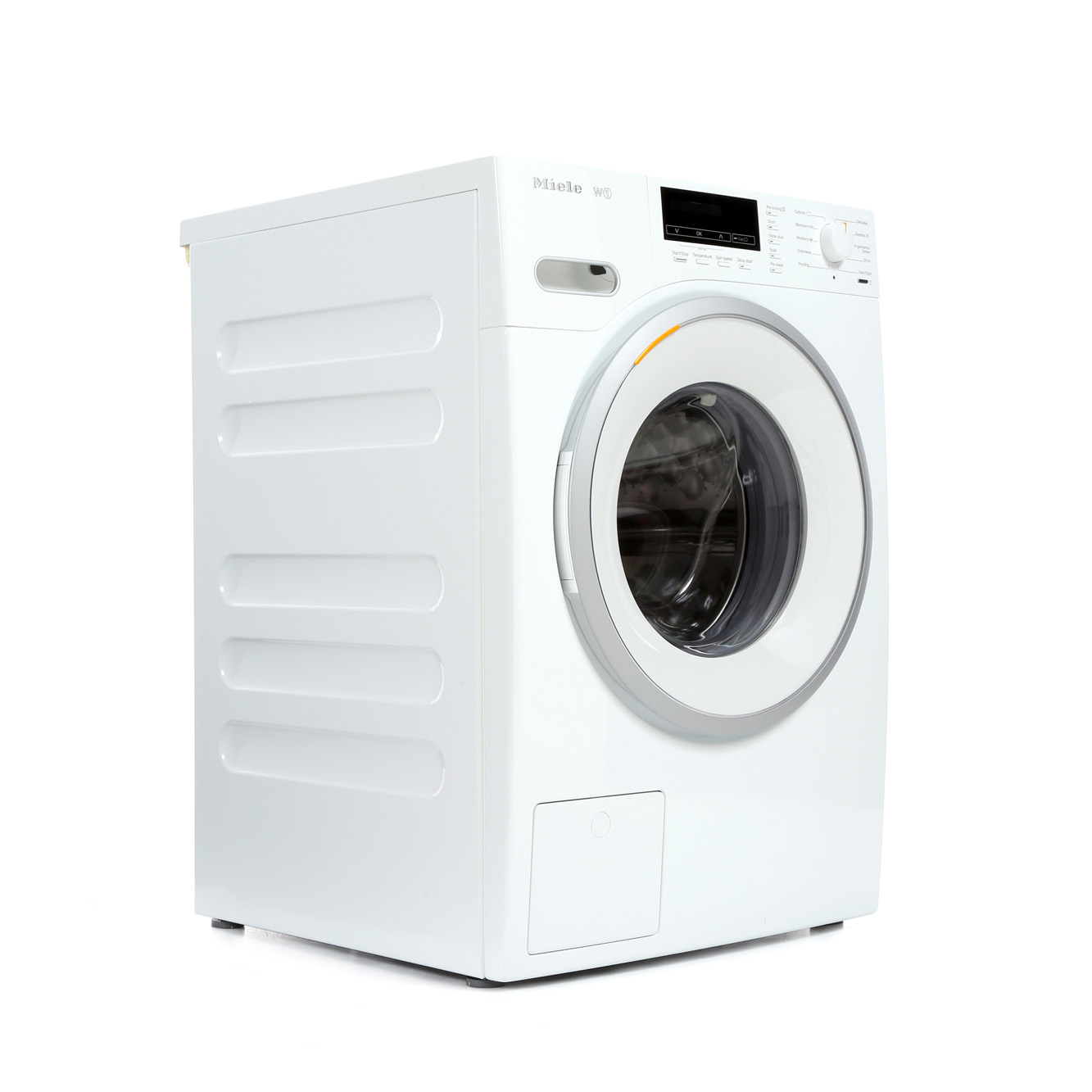 buy miele w1 whiteedition wmb120 washing machine wmb120 lotus white with a white and. Black Bedroom Furniture Sets. Home Design Ideas