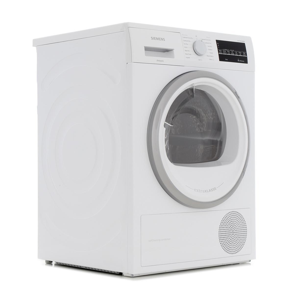 Siemens WT46W491GB Condenser Dryer with Heat Pump Technology