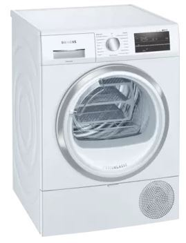 Siemens WT47RT90GB Condenser Dryer with Heat Pump Technology