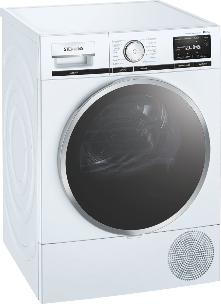 Siemens iQ700 WT48XEH9GB Condenser Dryer with Heat Pump Technology