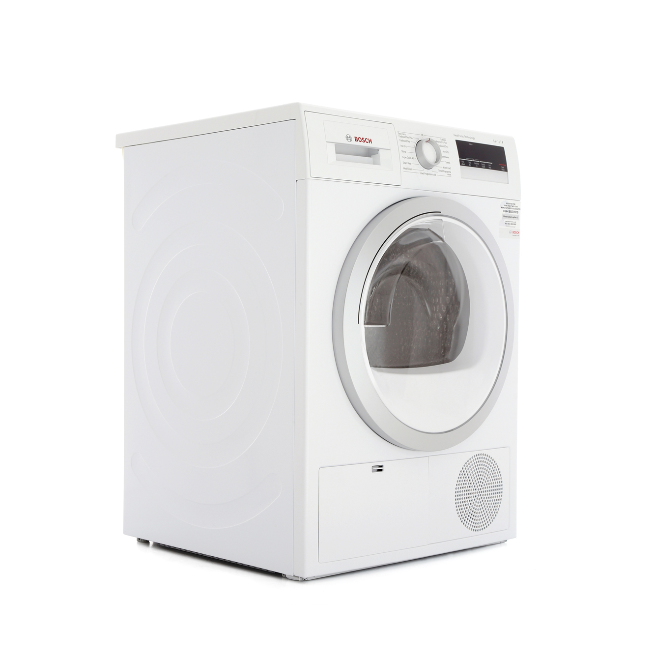 buy bosch serie 4 wth85200gb condenser dryer wth85200gb white marks electrical. Black Bedroom Furniture Sets. Home Design Ideas