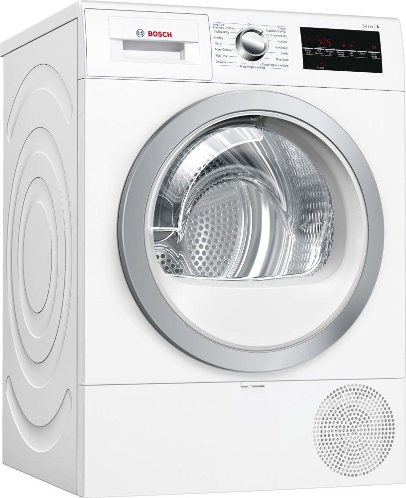Bosch Serie 6 WTR88T81GB Condenser Dryer with Heat Pump Technology