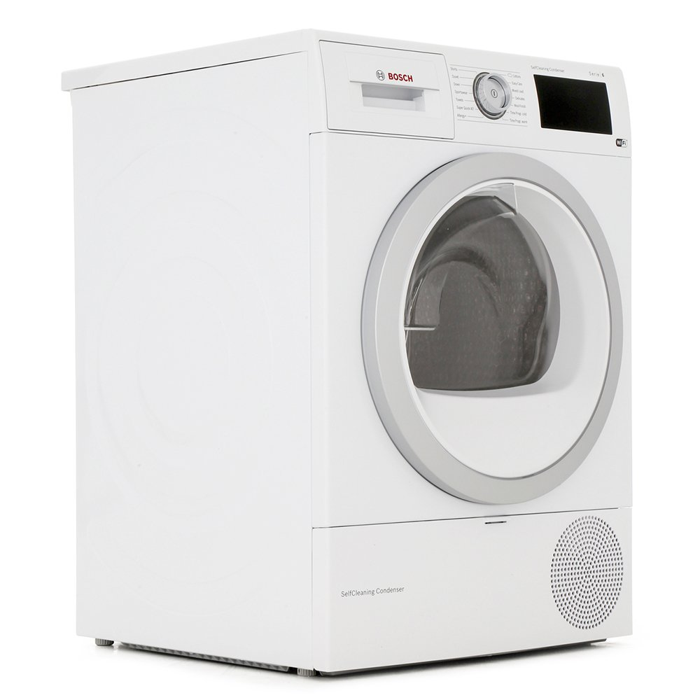 Bosch Serie 6 WTWH7660GB Condenser Dryer with Heat Pump Technology