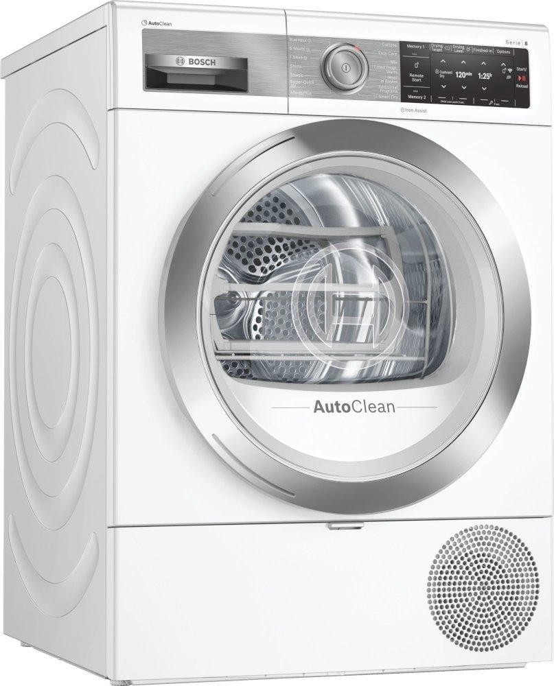 Bosch Serie 8 WTX88EH9GB Condenser Dryer with Heat Pump Technology