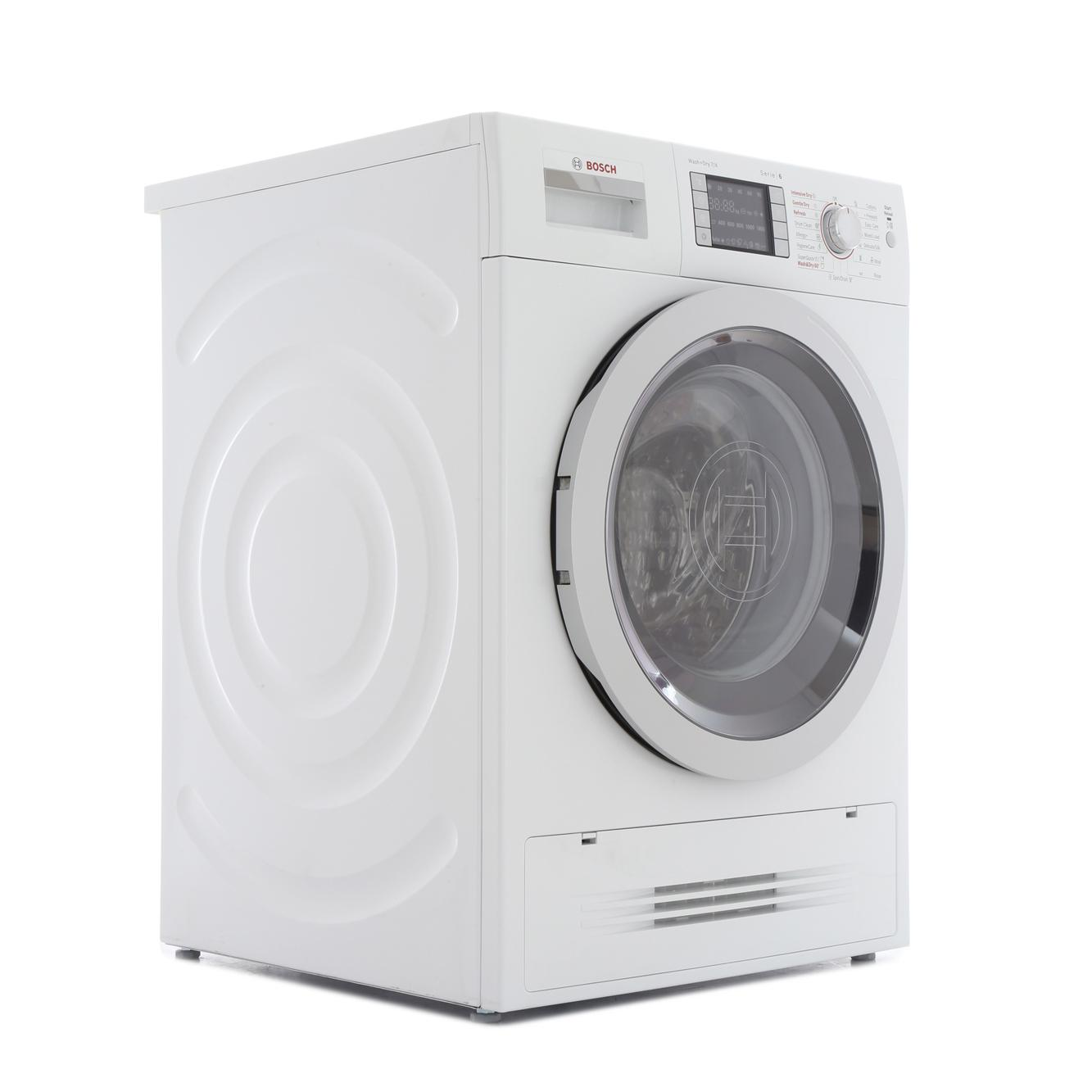 buy bosch serie 6 wvh28422gb washer dryer wvh28422gb white marks electrical. Black Bedroom Furniture Sets. Home Design Ideas