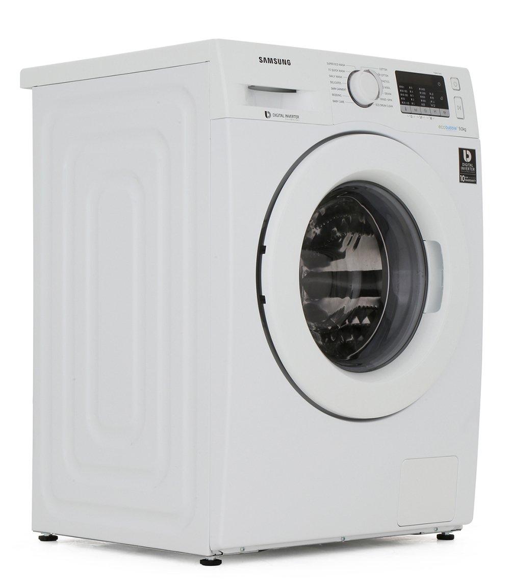 Samsung WW90J5455MW Washing Machine w/ Ecobubble Technology