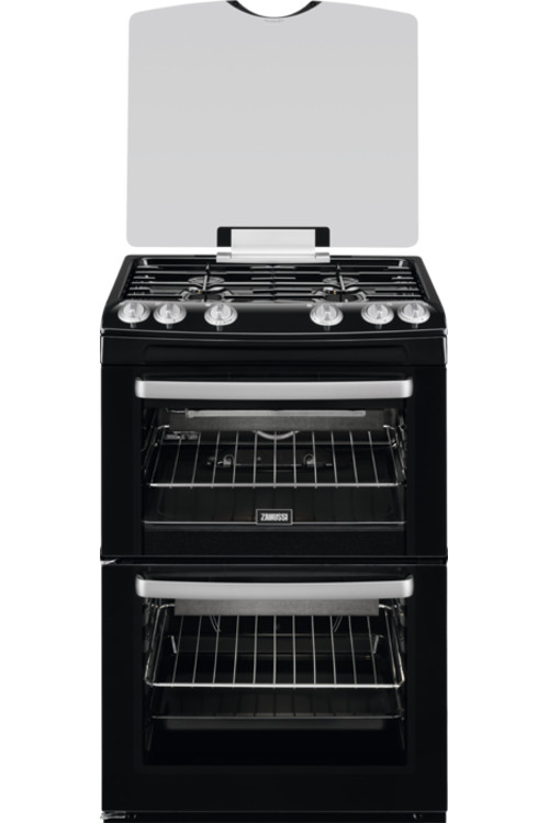 Zanussi ZCG55WGB Gas Cooker with Double Oven