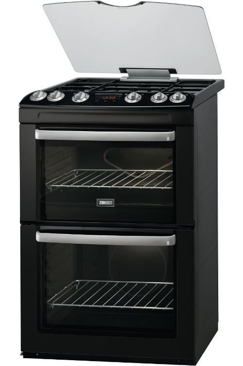 Zanussi ZCG664GNC Gas Cooker with Double Oven