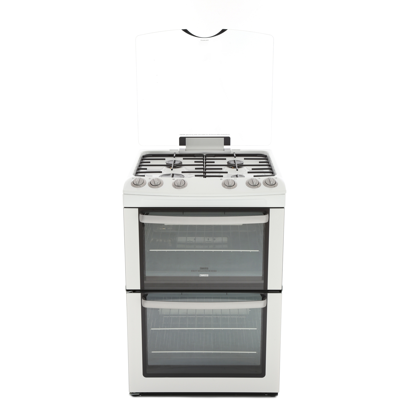 Zanussi ZCG669GW Gas Cooker with Double Oven