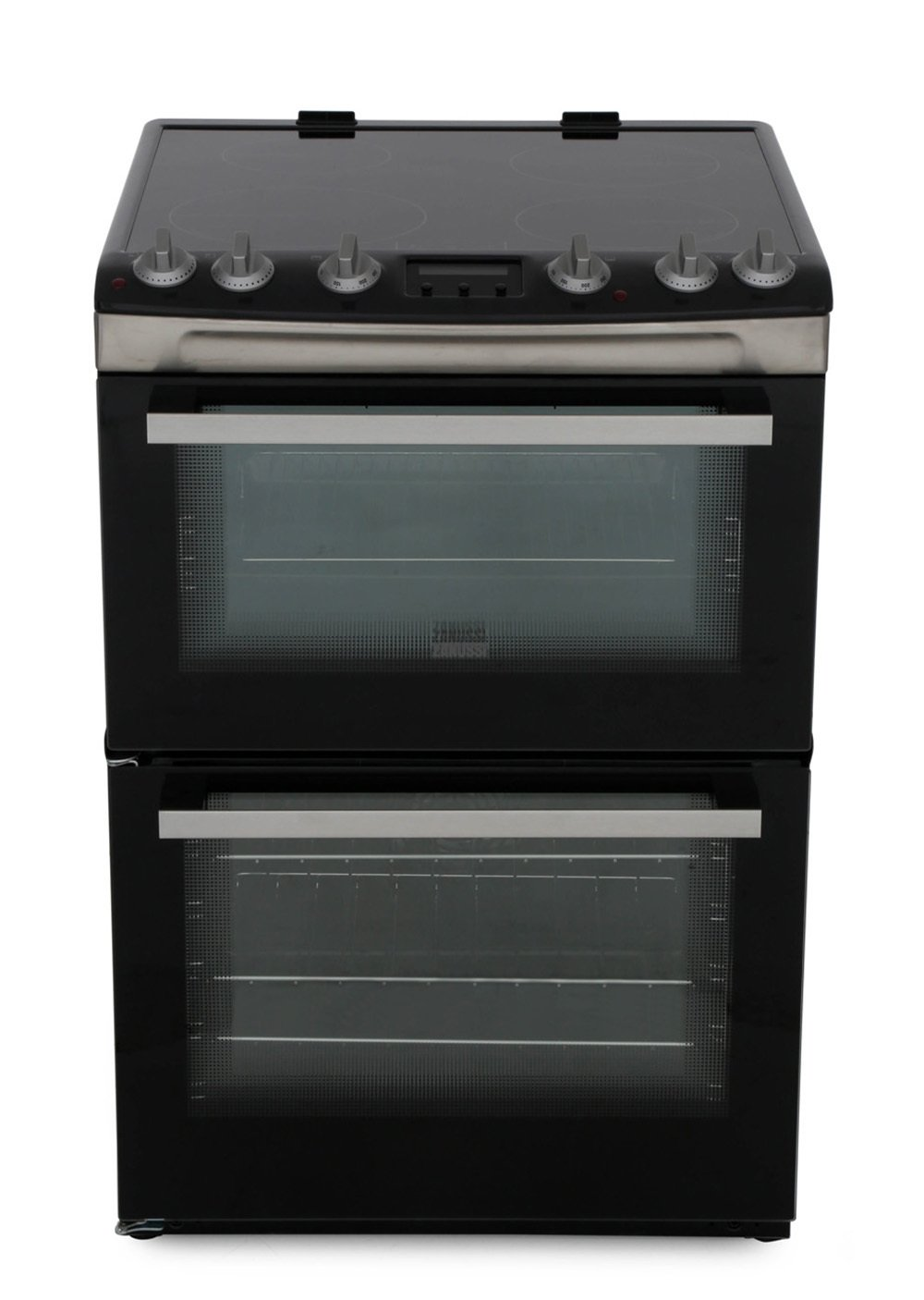 Zanussi ZCI66278XA Induction Electric Cooker with Double Oven