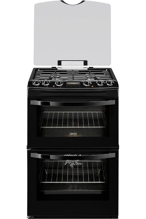 Zanussi ZCK68300B Dual Fuel Cooker