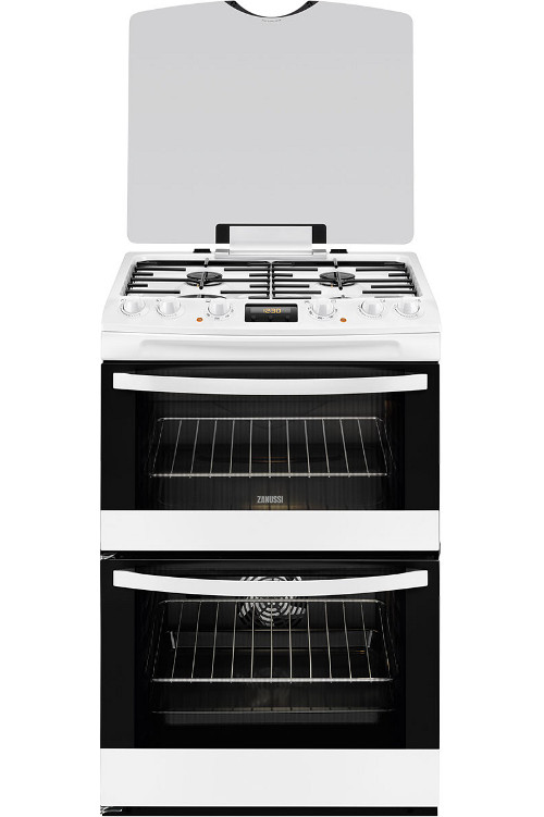 Zanussi ZCK68300W Dual Fuel Cooker