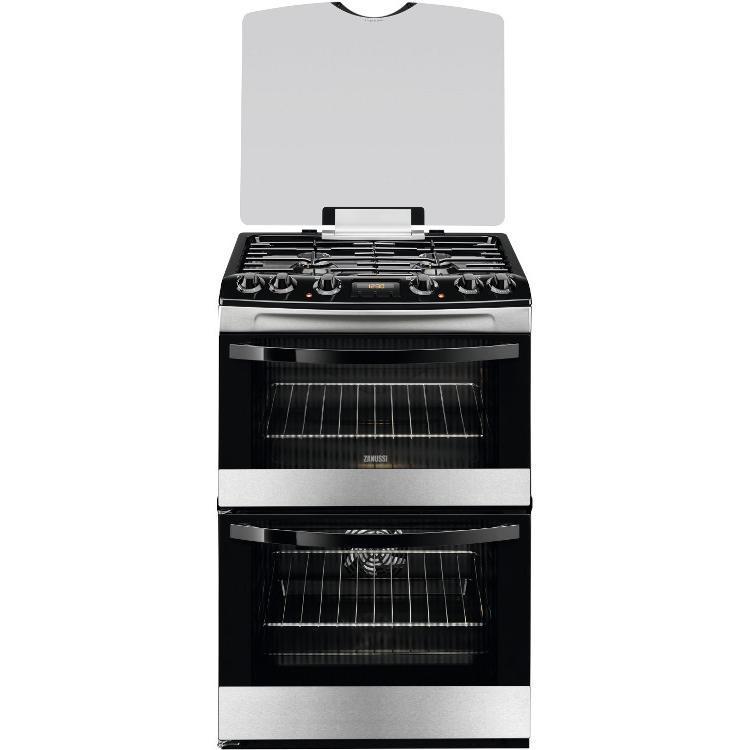 Zanussi ZCK68300X Dual Fuel Cooker
