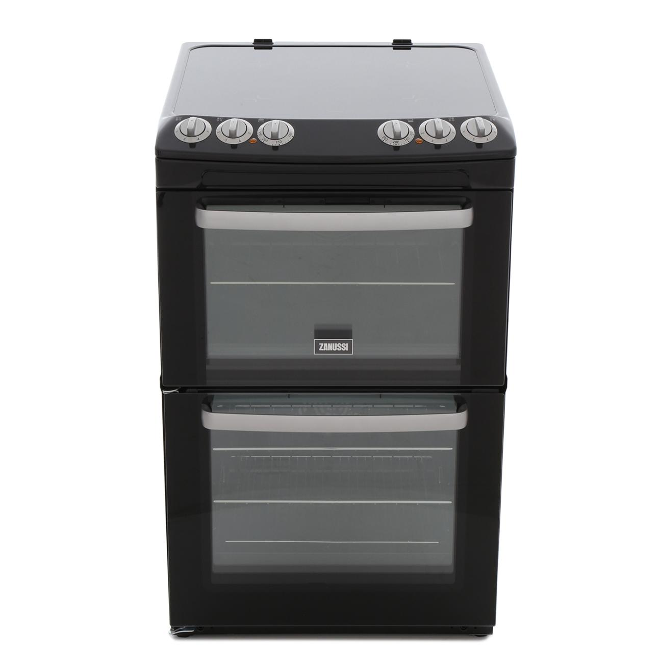 Zanussi ZCV554MN Ceramic Electric Cooker with Double Oven