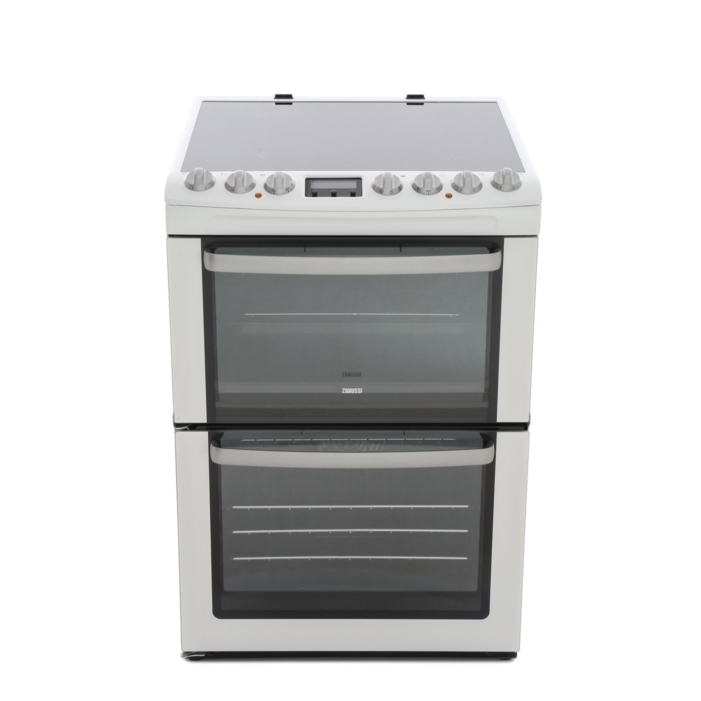 Zanussi ZCV66AEWC Electric Cooker with Double Oven