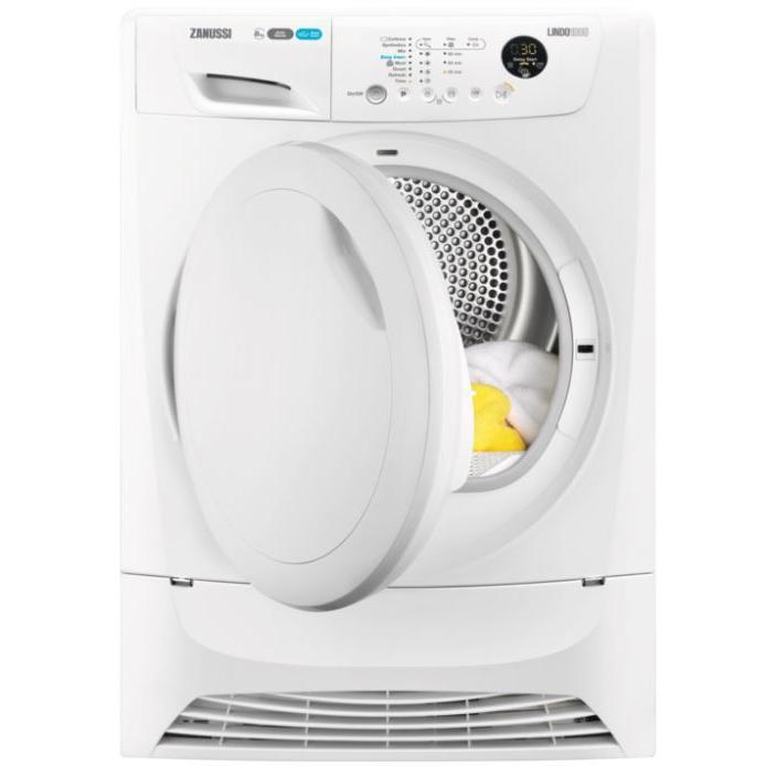 Zanussi ZDH8903PZ Condenser Dryer with Heat Pump Technology