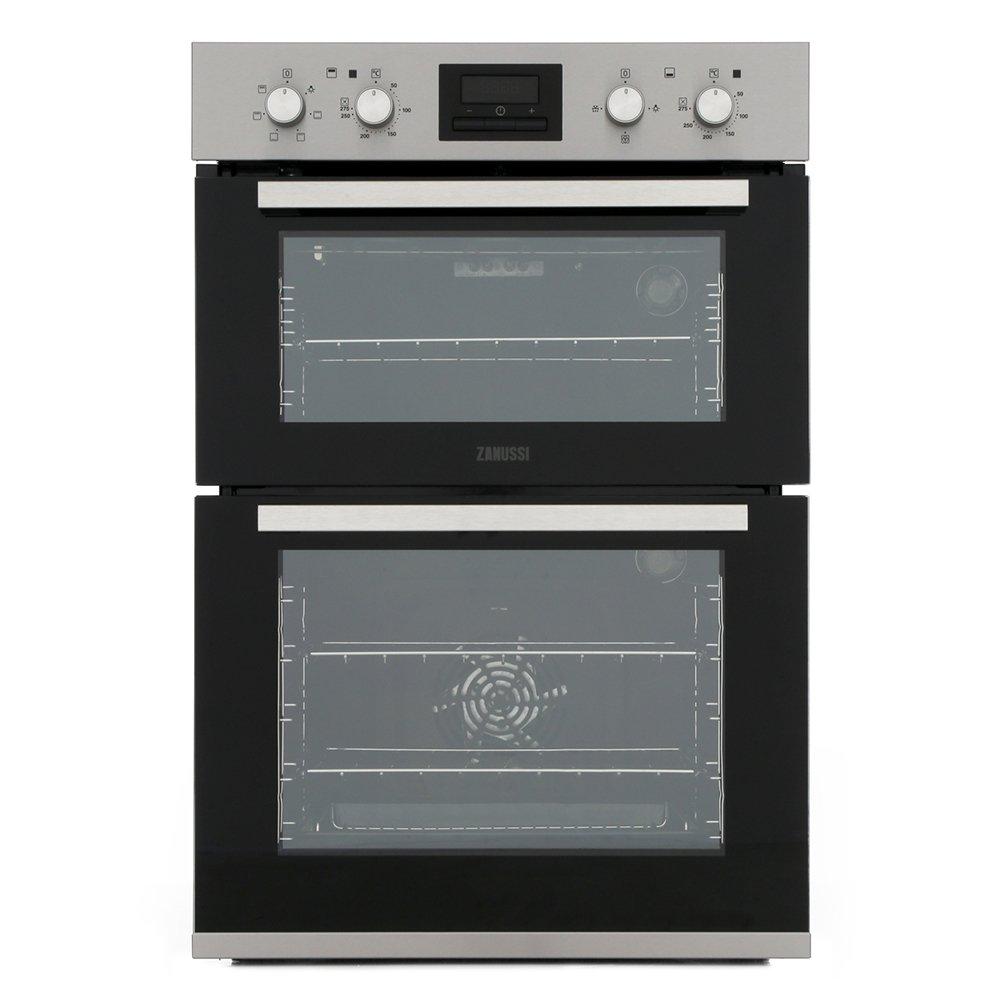 Zanussi ZOA35660XK Double Built In Electric Oven