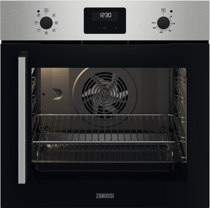 Zanussi ZOCNX3XR Single Built In Electric Oven