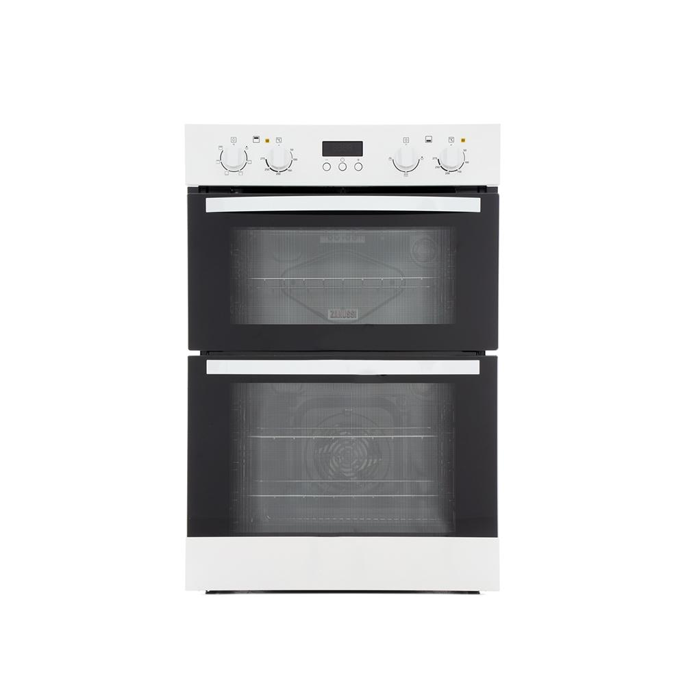 Buy Zanussi ZOD35511WK Double Built In Electric Oven - White | Marks ...