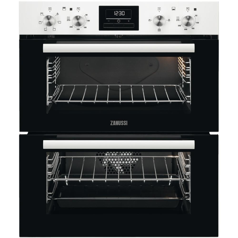 Zanussi ZOF35601WK Double Built Under Electric Oven