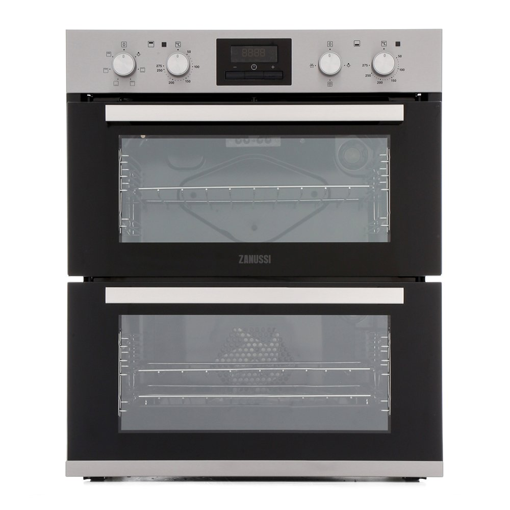 Zanussi ZOF35661XK Double Built Under Electric Oven