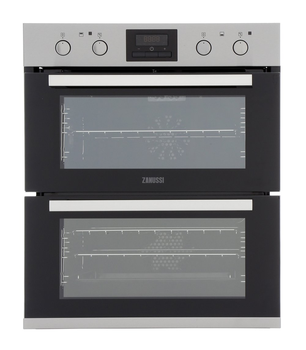 Zanussi ZOF35802XK Double Built Under Electric Oven