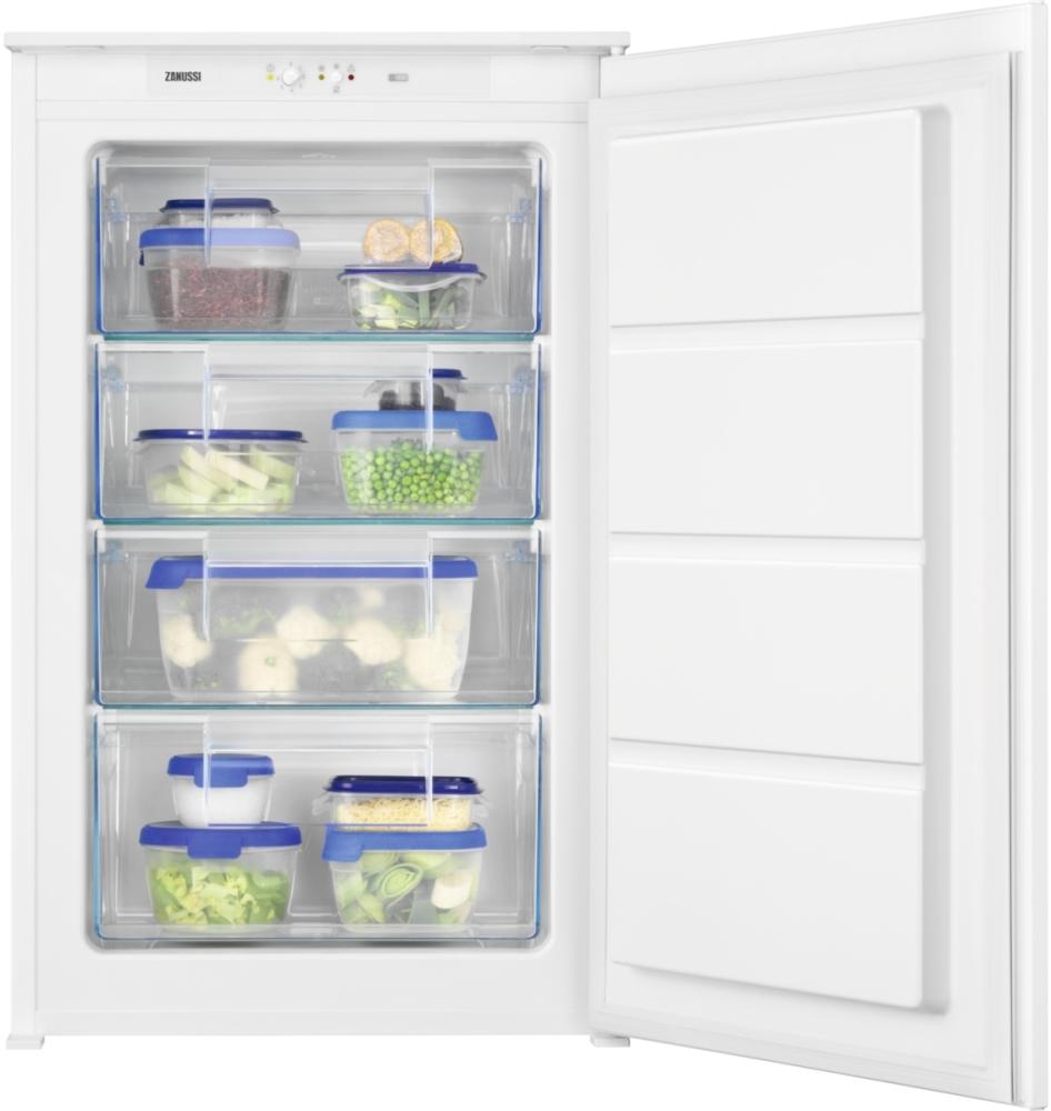 Zanussi ZUAN88ES Low Frost Built In Freezer