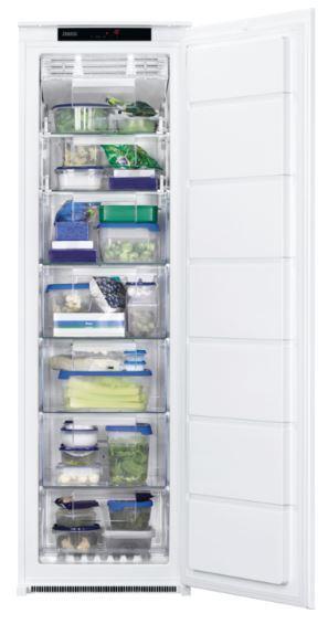 Zanussi ZUNN18FS1 Frost Free Built In Freezer