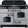 Rangemaster CDL110ECRP/C Classic Deluxe Royal Pearl with Chrome Trim 110cm Electric Ceramic Range Cooker