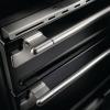 Rangemaster ELS110EISL Elise Slate with Brushed Chrome Trim 110cm Electric Induction Range Cooker