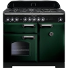 Rangemaster CDL100DFFRG/C Classic Deluxe Racing Green with Chrome Trim 100cm Dual Fuel Range Cooker