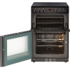 New World 60EDOMC Black Ceramic Electric Cooker with Double Oven