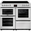 Belling Cookcentre 100E Professional Stainless Steel 100cm Electric Ceramic Range Cooker
