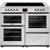 Belling Cookcentre 110E Professional Stainless Steel 110cm Electric Ceramic Range Cooker