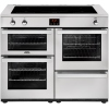 Belling Cookcentre 110Ei Professional Stainless Steel 110cm Electric Induction Range Cooker