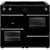Belling Farmhouse 100Ei Black 100cm Electric Induction Range Cooker