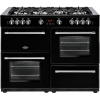Belling Farmhouse 110G Black 110cm Gas Range Cooker