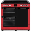 New World Vision 900E Red 90cm Electric Range Cooker