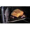 Rangemaster CDL110DFFBL/C Classic Deluxe Gloss Black with Chrome Trim 110cm Dual Fuel Range Cooker