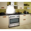 Rangemaster PROP90FXDFFSS/C Professional Plus FX Stainless Steel with Chrome Trim 90cm Dual Fuel Range Cooker