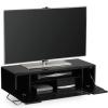Alphason CRO21000CBBLK Chromium 2 TV Cabinet