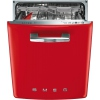 Smeg DI6FABRD 50's Retro Style Built In Fully Integrated Dishwasher