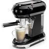 Smeg ECF01BLUK Retro Espresso Coffee Machine