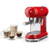 Smeg ECF01RDUK Retro Espresso Coffee Machine