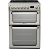 Hotpoint HUI611X Induction Electric Cooker with Double Oven